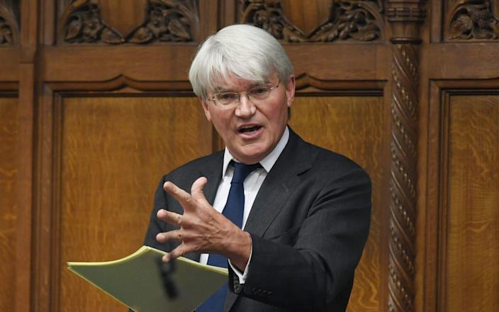 Picture 260763309 08/06/2021 at 18:08 Owner : PA ONE EDITORIAL USE ONLY. NO SALES. NO ARCHIVING. NO ALTERING OR MANIPULATING. NO USE ON SOCIAL MEDIA UNLESS AGREED BY HOC PHOTOGRAPHY SERVICE. MANDATORY CREDIT: UK Parliament/Jessica Taylor Handout photo issued by UK Parliament of Conservative MP Andrew Mitchell responding to Treasury minister Steve Barclay's statement to the House of Commons in Westminster, London, on the foreign aid budget. Picture date: Tuesday June 8, 2021. PA Photo. See PA story POLITICS Aid. Photo credit should read: UK Parliament/Jessica Taylor/PA Wire NOTE TO EDITORS: This handout photo may only be used in for editorial reporting purposes for the contemporaneous illustration of events, things or the people in the image or facts mentioned in the caption. Reuse of the picture may require further permission from the copyright holder.