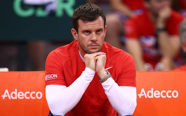 Leon Smith, the Great Britain Davis Cup captain - Getty Images Europe