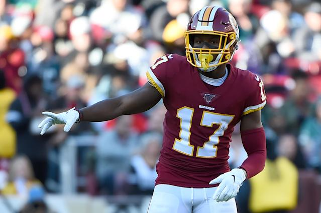 Washington rookie Terry McLaurin will miss Sunday's game against Dallas. (Will Newton/Getty Images)
