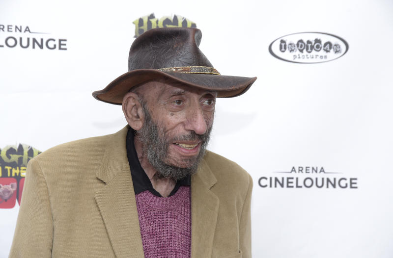 "HOLLYWOOD, CALIFORNIA - APRIL 19: Actor Sid Haig attends a screening of Indican Pictures' ""High On The Hog"" at Arena Cinelounge on April 19, 2019 in Hollywood, California. (Photo by Michael Tullberg/Getty Images)"