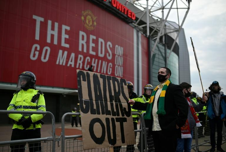 Manchester United fans are expected to protest once more against the club's owners when 10,000 fans return to Old Trafford on Tuesday