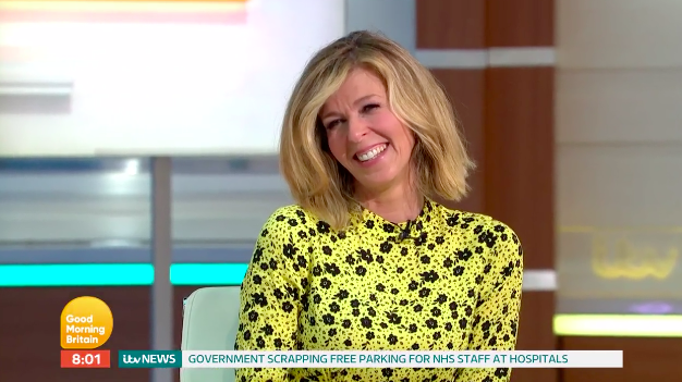 Kate Garraway is coming back to work at 'Good Morning Britain' while her husband continues to fight for his life. (ITV)
