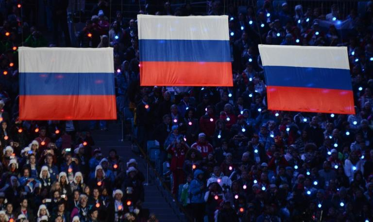 Russian flags will not fly over the next two Olympic Games (AFP Photo/Kirill KUDRYAVTSEV)