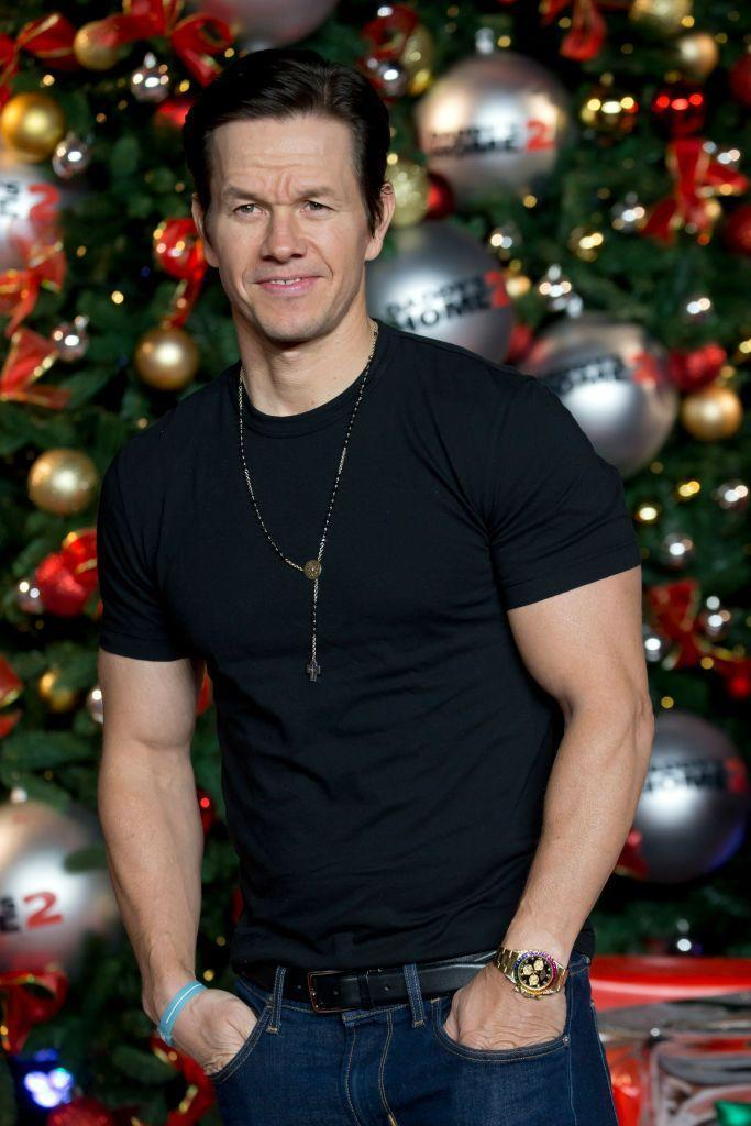 <p>The muscles help Marky Mark stand up against larger costars. And then when you put a gun in his hand ... well, height matters a little less then. </p>