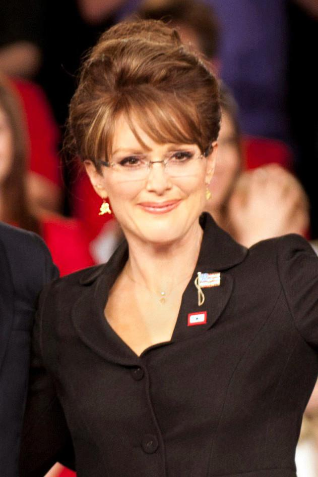 Another Oscar nominee channels politician Sarah Palin.