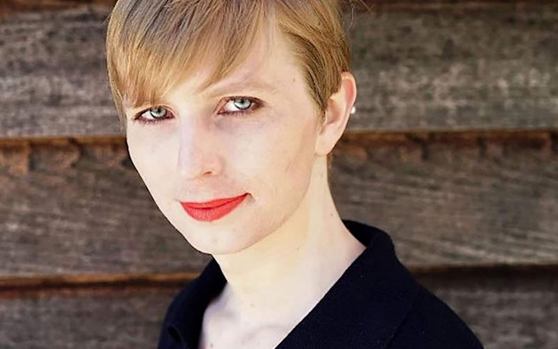 Chelsea Manning  tried to cross at the official border office at Lacolle, Quebec, on Friday - AFP