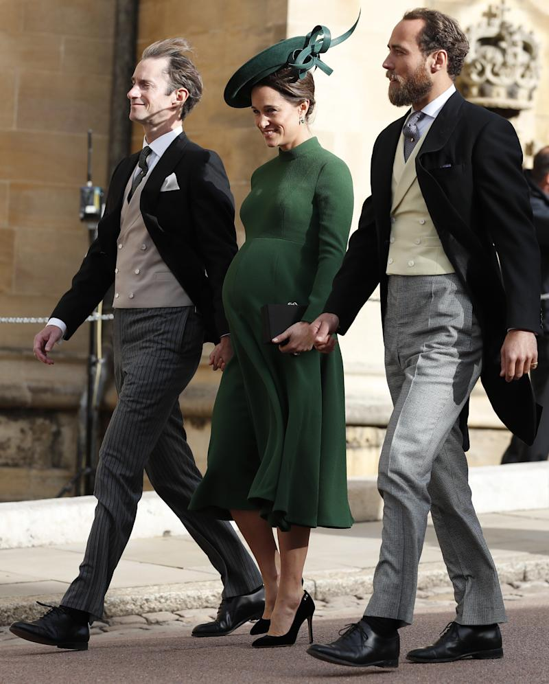 8a0476250d72b Pippa Middleton makes surprise appearance at royal wedding