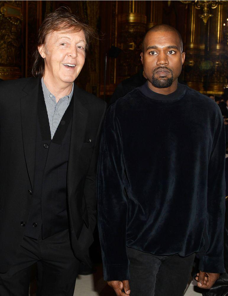 Paul McCartney and Kanye West | Pascal Le Segretain/Getty