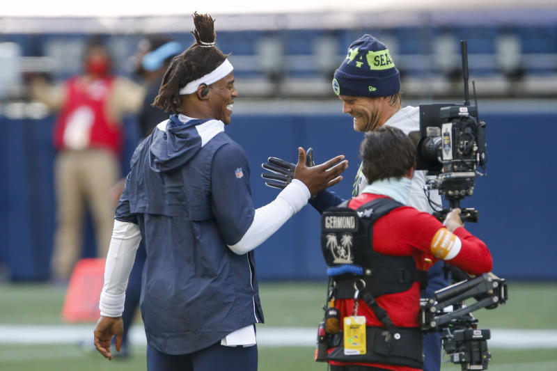 Former Panthers QB Cam Newton: 'It's not about money, it's about respect'