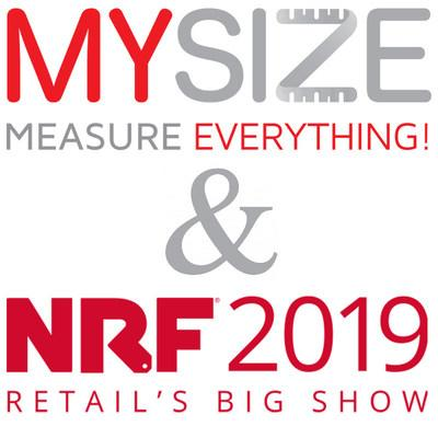 To schedule a demonstration with My Size at NRF® 2019, please email contact@mysizeid.com. (PRNewsfoto/My Size Inc.)