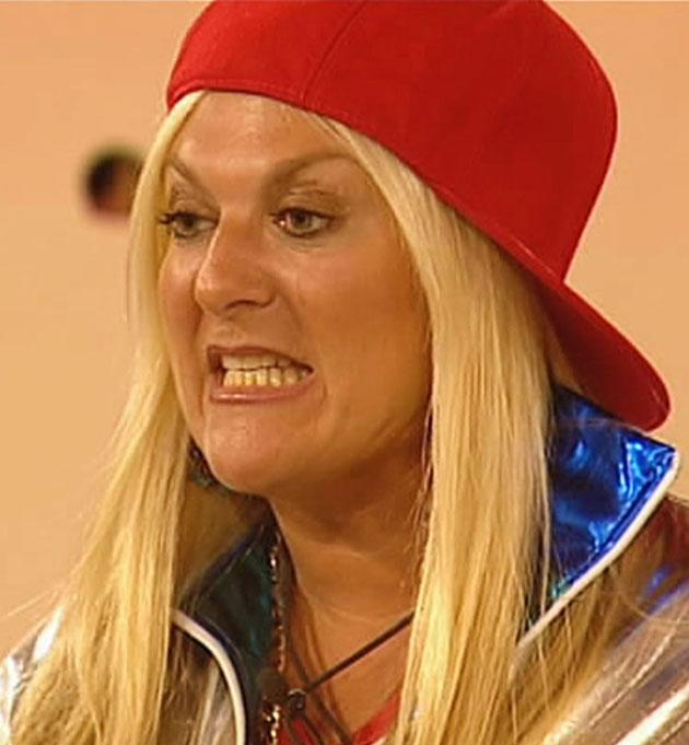 Back in the first series Vanessa Feltz appeared to go insane under the pressure, resulting in her writing on the table and swearing at Big Brother