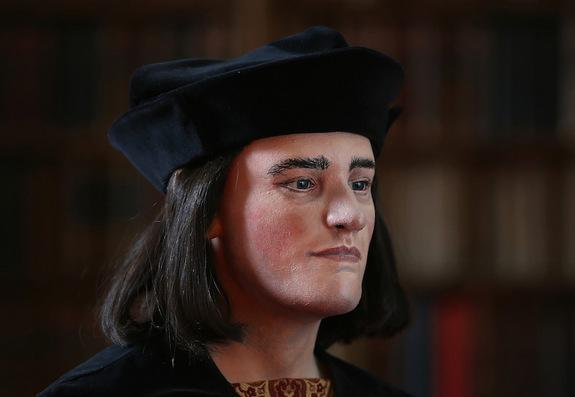 A new facial reconstruction of King Richard III, based on the bones unearthed beneath a parking lot in Leicester, England, show the vilified monarch in a kinder, gentler light.