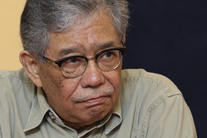 Tawfik claimed that Umno had died in 1988 during the Malaysian Constitutional Crisis. — Picture by Yusof Mat Isa