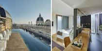 """<p>Located in Barcelona's historic centre, luxury boutique hotel <a href=""""https://go.redirectingat.com?id=127X1599956&url=https%3A%2F%2Fwww.booking.com%2Fhotel%2Fes%2Fohla.en-gb.html%3Faid%3D2070929%26label%3Dsummer-destinations-abroad&sref=https%3A%2F%2Fwww.redonline.co.uk%2Ftravel%2Finspiration%2Fg35851087%2Fsummer-holiday-destinations%2F"""" rel=""""nofollow noopener"""" target=""""_blank"""" data-ylk=""""slk:Ohla Barcelona"""" class=""""link rapid-noclick-resp"""">Ohla Barcelona</a> features a rooftop pool with fantastic city views, as well as several restaurants specialising in Catalan cuisine.</p><p><a class=""""link rapid-noclick-resp"""" href=""""https://go.redirectingat.com?id=127X1599956&url=https%3A%2F%2Fwww.booking.com%2Fhotel%2Fes%2Fohla.en-gb.html%3Faid%3D2070929%26label%3Dsummer-destinations-abroad&sref=https%3A%2F%2Fwww.redonline.co.uk%2Ftravel%2Finspiration%2Fg35851087%2Fsummer-holiday-destinations%2F"""" rel=""""nofollow noopener"""" target=""""_blank"""" data-ylk=""""slk:CHECK AVAILABILITY"""">CHECK AVAILABILITY</a></p>"""