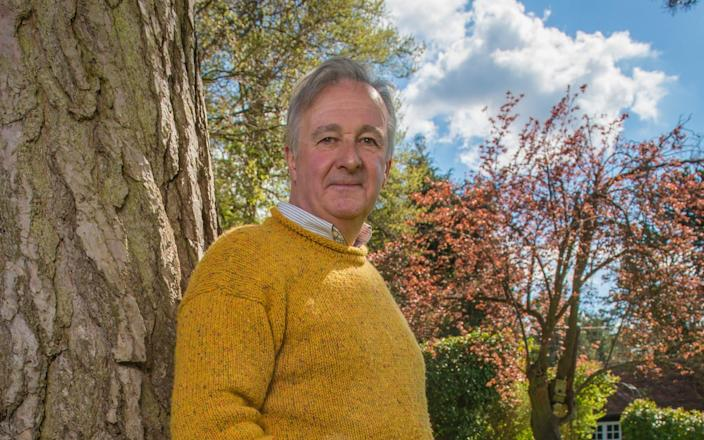 Clive Dix at his home in Hertfordshire. - Fiona Hanson