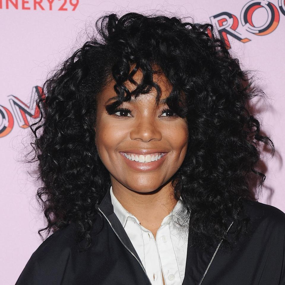 """If Gabrielle Union's going to do anything, it's deliver some serious curl inspiration. """"This cut is great because it is layered, leaving the curls light and airy,"""" says hairstylist <a href=""""https://www.instagram.com/chuckielovehair/?hl=en"""" rel=""""nofollow noopener"""" target=""""_blank"""" data-ylk=""""slk:Chuck Amos"""" class=""""link rapid-noclick-resp"""">Chuck Amos</a>, adding, """"the layers stack up on each other and blend in with the bang, and the ends of the curls are left loose, giving the overall look some flair."""" He notes this cut is best for type 3A to 3C curls because the size and lightness of those curls work best with this layered side part cut. At the salon, tell your hairdresser to cut the curls dry to avoid shrinkage — especially the bangs."""