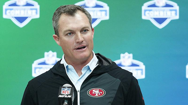 49ers GM John Lynch welcomes Raiders fans to 'come jump on our train'