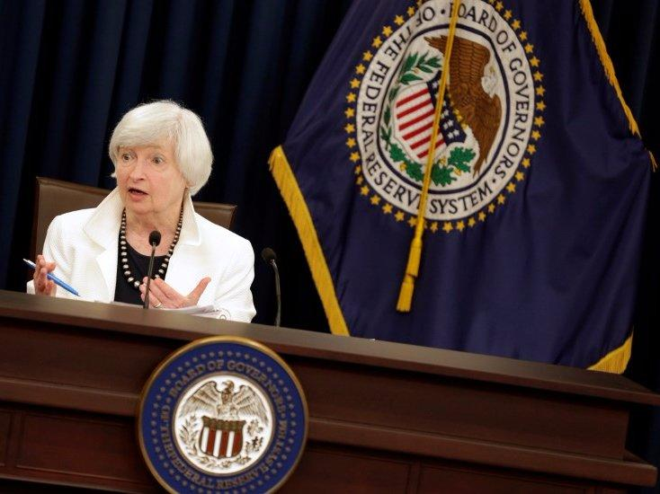 Federal Reserve Chairman Janet Yellen speaks during a news conference after a two-day Federal Open Markets Committee (FOMC) policy meeting in Washington, U.S., September 20, 2017. REUTERS/Joshua Roberts