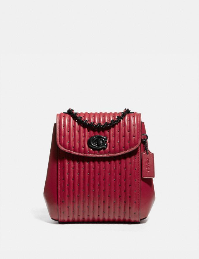 Parker Convertible Backpack 16 With Quilting And Rivets is on sale at Coach, $234 (originally $550).