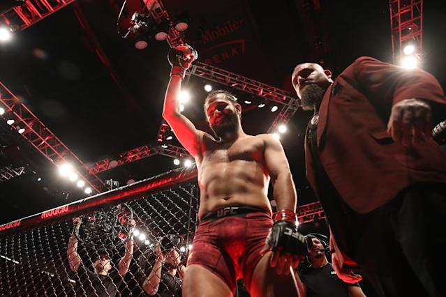 Jorge Masvidal wants to fight Nate Diaz, but he knows that doesn't make him an enemy. (Christian Petersen/Zuffa LLC)