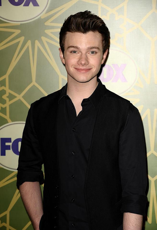 """<a href=""""/chris-colfer/contributor/2427769"""">Chris Colfer</a> (""""<a href=""""/glee/show/44113"""">Glee</a>"""") attends the 2012 Fox Winter TCA All-Star Party at Castle Green on January 8, 2012 in Pasadena, California."""