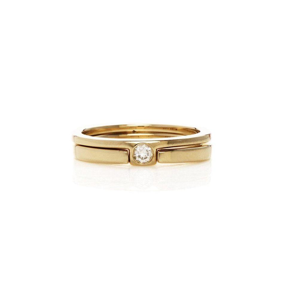 """<p><strong>Bliss Lau</strong> Rain Ring Pair, $2,050, available at <a href=""""https://www.blisslau.com/products/rain-ring"""" rel=""""nofollow noopener"""" target=""""_blank"""" data-ylk=""""slk:Bliss Lau"""" class=""""link rapid-noclick-resp"""">Bliss Lau</a>.</p>"""
