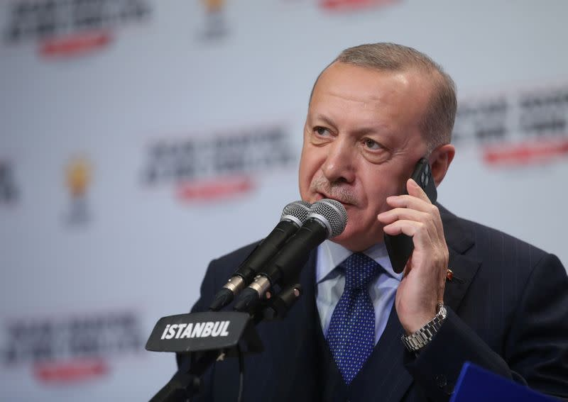 Turkey's Erdogan says Syria talks with Russia unsatisfactory, offensive 'matter of time'