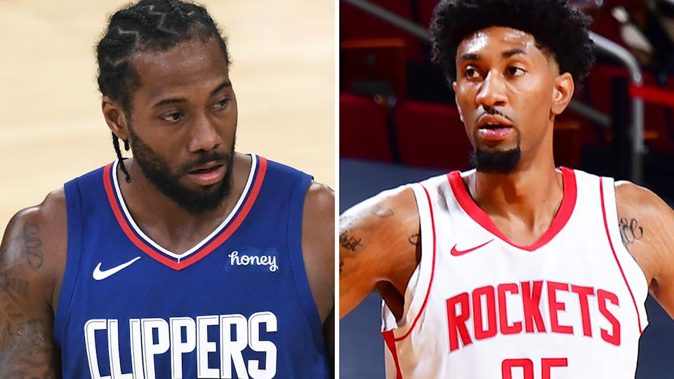 Kawhi Leonard's usual load management questions remain, while Houston's Christian Wood stands out as one of the most intriguing fantasy bets. Pictures: Getty Images