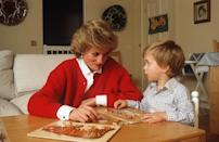 """<p>Prince William was <a href=""""http://abcnews.go.com/Entertainment/burning-questions-royal-baby/story?id=19401536#6"""" rel=""""nofollow noopener"""" target=""""_blank"""" data-ylk=""""slk:reportedly"""" class=""""link rapid-noclick-resp"""">reportedly</a> the first royal baby to break away from this tradition when Princess Diana opted for disposable diapers instead. </p>"""