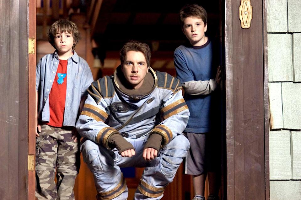 """<p><strong>Netflix's Description:</strong> """"A mysterious game sends two brothers flying into space, where they must reach the planet Zathura - or be trapped in galactic limbo forever.""""</p> <p><a href=""""https://www.netflix.com/title/70039180"""" class=""""link rapid-noclick-resp"""" rel=""""nofollow noopener"""" target=""""_blank"""" data-ylk=""""slk:Stream Zathura on Netflix now!"""">Stream <b>Zathura</b> on Netflix now!</a></p>"""