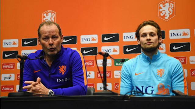 Danny Blind's sacking as Netherlands coach has done nothing to dent Daley Blind's pride in having played under his father.