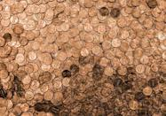 <p>Guatemalans hoping for wealth in the new year toss 12 pennies behind their backs into the street when midnight strikes. The pennies represent each calendar month.</p>