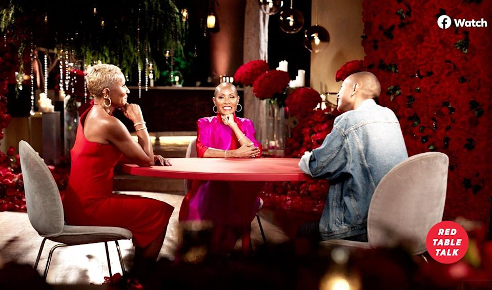Jada Pinkett Smith Celebrates Her 50th with George Clooney, Angela Bassett and More on Red Table Talk
