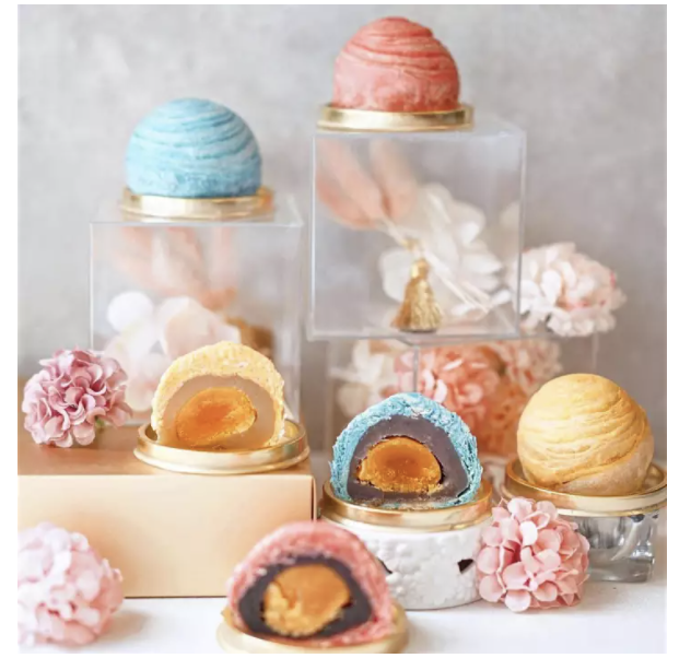 PHOTO: Lazada.【8悦】Teochew Mooncake Gift Sets Low Sugar 6pcs, Assorted [Free Delivery]