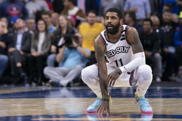 Can Kyrie Irving lead a team to success? (Photo by Mitchell Leff/Getty Images)