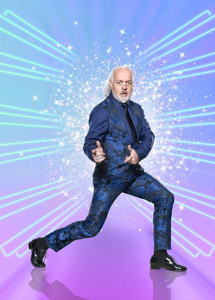 """<p><strong>Bill Bailey</strong></p><p>Comedian</p><p>""""This is a world I don't know much about at all. I've been reading about ballroom dancing generally but it's all new to me. For me, learning the basics and then being able to pull off a coherent dance in the time we've got is a huge challenge which is why I've been reading about it. I want to know exactly what I'm getting into and I want to take it seriously and do as well as I possibly can for my dance partner too as they are being judged as well. They have got a tough job in turning around someone clumsy like me into something that can look like a dancer.""""</p>"""