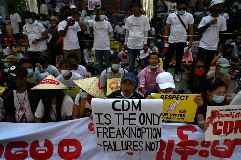Myanmar's civil servants are refusing to work for the military junta, as a civil disobedience movement gains momentum