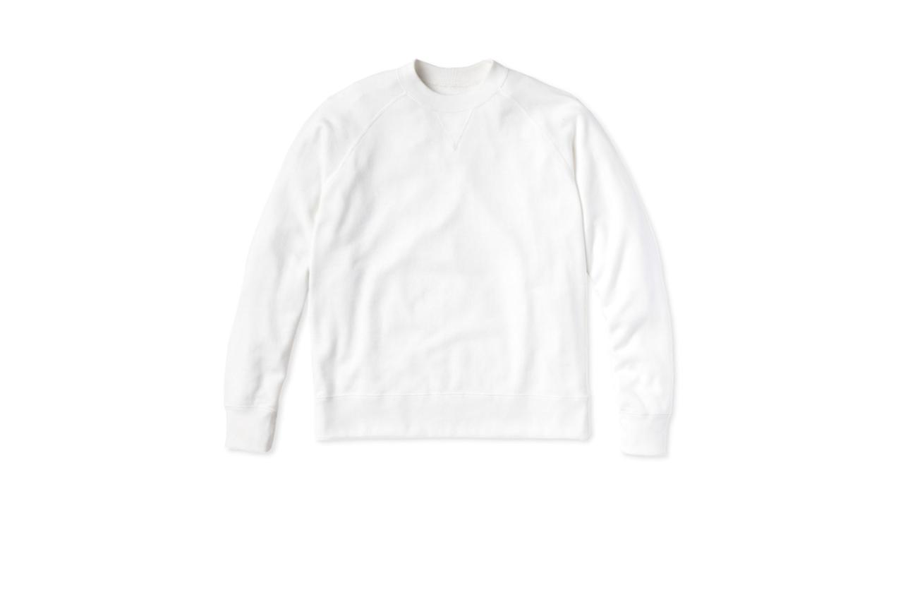 "$85, Entireworld. <a href=""https://theentireworld.com/men/product/sweatshirt-mens-type-a-version-1-white"">Get it now!</a>"