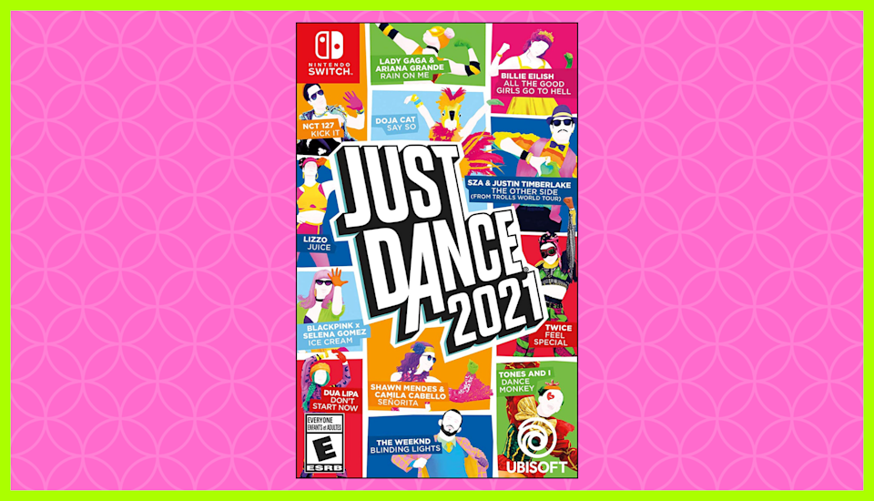 Something to celebrate: Save 40 percent on Just Dance 2021 for Nintendo Switch. (Photo: Amazon)