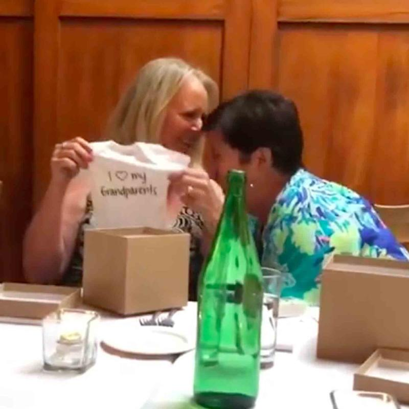 These Grandmas-to-Be Had Such a Wholesome Reaction to a Pregnancy Announcement