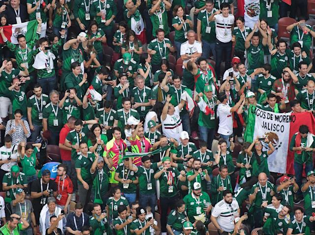 World Cup 2018: Fifa investigates Mexico fans over homophobic chants in win over Germany