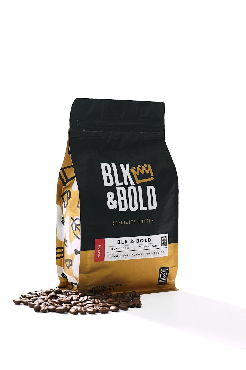 """<p>blkandbold.com</p><p><strong>$14.00</strong></p><p><a href=""""https://blkandbold.com/collections/fair-trade-specialty-coffees/products/blk-bold-sumatra-blend"""" rel=""""nofollow noopener"""" target=""""_blank"""" data-ylk=""""slk:Shop Now"""" class=""""link rapid-noclick-resp"""">Shop Now</a></p><p>Your step dad will love trying a new coffee brand. This blend is great for homemade espresso. </p>"""