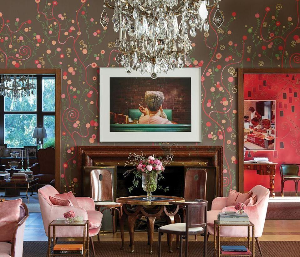 You're Going to Love These Living Room Wallpaper Ideas