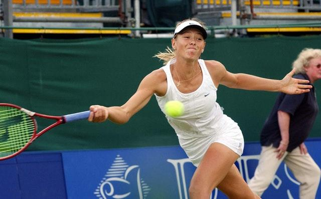 Maria Sharapova, aged 16, reached the semi-finals of the 2003 DFS Classic in Birmingham