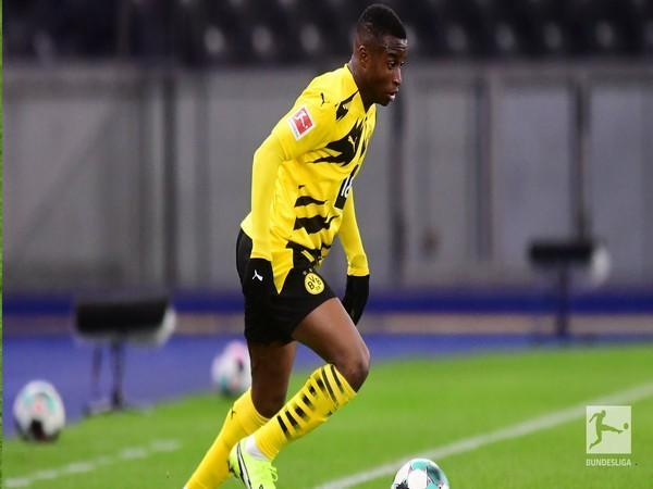 Borussia Dortmund forward Youssoufa Moukoko (Photo/ Bundesliga Twitter)