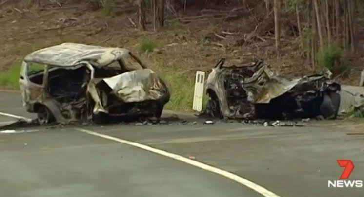 The devastating crash happened near Ulladulla on December 26. Source: 7 News