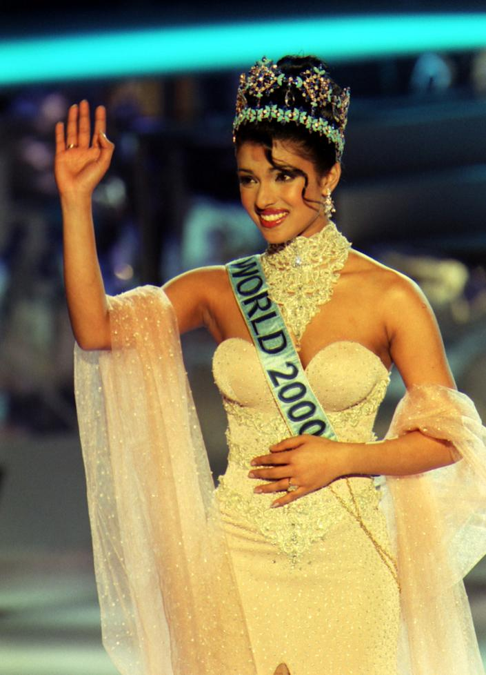 It was the Miss World win of 2000 that led Priyanka Chopra to Bollywood. (Photo by Michael Crabtree - PA Images/PA Images via Getty Images)
