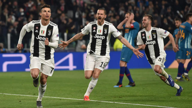 Juventus lost 2-0 in the first leg of their last-16 tie, but Leonardo Bonucci was impressed with his team's response in Turin.