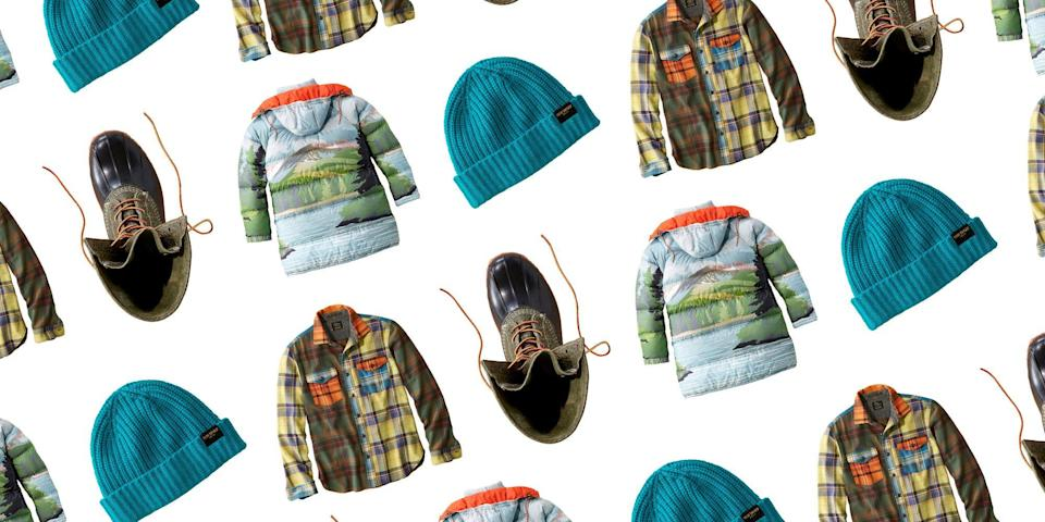 """<p class=""""body-dropcap"""">When the first images of the Todd Snyder x L.L. Bean collection were released in February, we were obsessed. It's the largest collaboration L.L. Bean has ever done, and the first time they have ever let an outside designer<a href=""""https://www.youtube.com/watch?v=cEZ9WzdtsWI&feature=youtu.be"""" rel=""""nofollow noopener"""" target=""""_blank"""" data-ylk=""""slk:peruse the archives"""" class=""""link rapid-noclick-resp""""> peruse the archives</a> that span over the brand's 108 year history. Dubbed the <em>From Away Collection</em>, the collaboration highlights L.L. Bean's unique space at the intersection of durability, style, versatility, and that inherent authenticity that comes with the classic outdoor brand.</p><p>Todd Snyder wanted to marry two worlds: the L.L. Bean """"Maine-ahs"""" and the world of downtown New York City. The collection emphasizes adventure, whether it's <a href=""""https://www.townandcountrymag.com/style/fashion-trends/g32906814/stylish-hiking-outfits-for-women/"""" rel=""""nofollow noopener"""" target=""""_blank"""" data-ylk=""""slk:climbing mountains"""" class=""""link rapid-noclick-resp"""">climbing mountains</a> or embracing the spontaneity of an urban landscape. From the <a href=""""https://www.townandcountrymag.com/leisure/travel-guide/a33808790/how-to-rent-yellowstone-cabin-montana/"""" rel=""""nofollow noopener"""" target=""""_blank"""" data-ylk=""""slk:outdoorsmen"""" class=""""link rapid-noclick-resp"""">outdoorsmen</a> to the city dweller, L.L. Bean is a staple in everyone's wardrobes. Stylistically, the collection incorporates L.L. Bean's vintage logos, signature flannels, and classic sherpa jackets. And at the heart lies the rich and multi-faceted history of L.L. Bean.</p><p>For U.S. shoppers, the collection is available in four in-store locations: L.L.Bean Flagship Store (Freeport, Maine), Todd Snyder Flagship Store (New York), Todd Snyder at the Liquor Store (New York), and Bodega (Boston). For those that can't shop in person, it will be available online on both <a href=""""https://www.toddsnyder."""