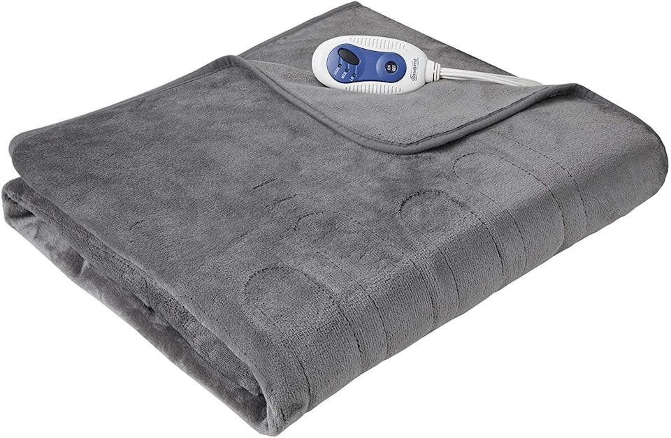 """<br><br><strong>Beautyrest Store</strong> Foot Pocket Soft Microlight Plush Electric Blanket, $, available at <a href=""""https://go.skimresources.com/?id=30283X879131&url=https%3A%2F%2FFoot%2520Pocket%2520Soft%2520Microlight%2520Plush%2520Electric%2520Blanket"""" rel=""""nofollow noopener"""" target=""""_blank"""" data-ylk=""""slk:Amazon"""" class=""""link rapid-noclick-resp"""">Amazon</a>"""